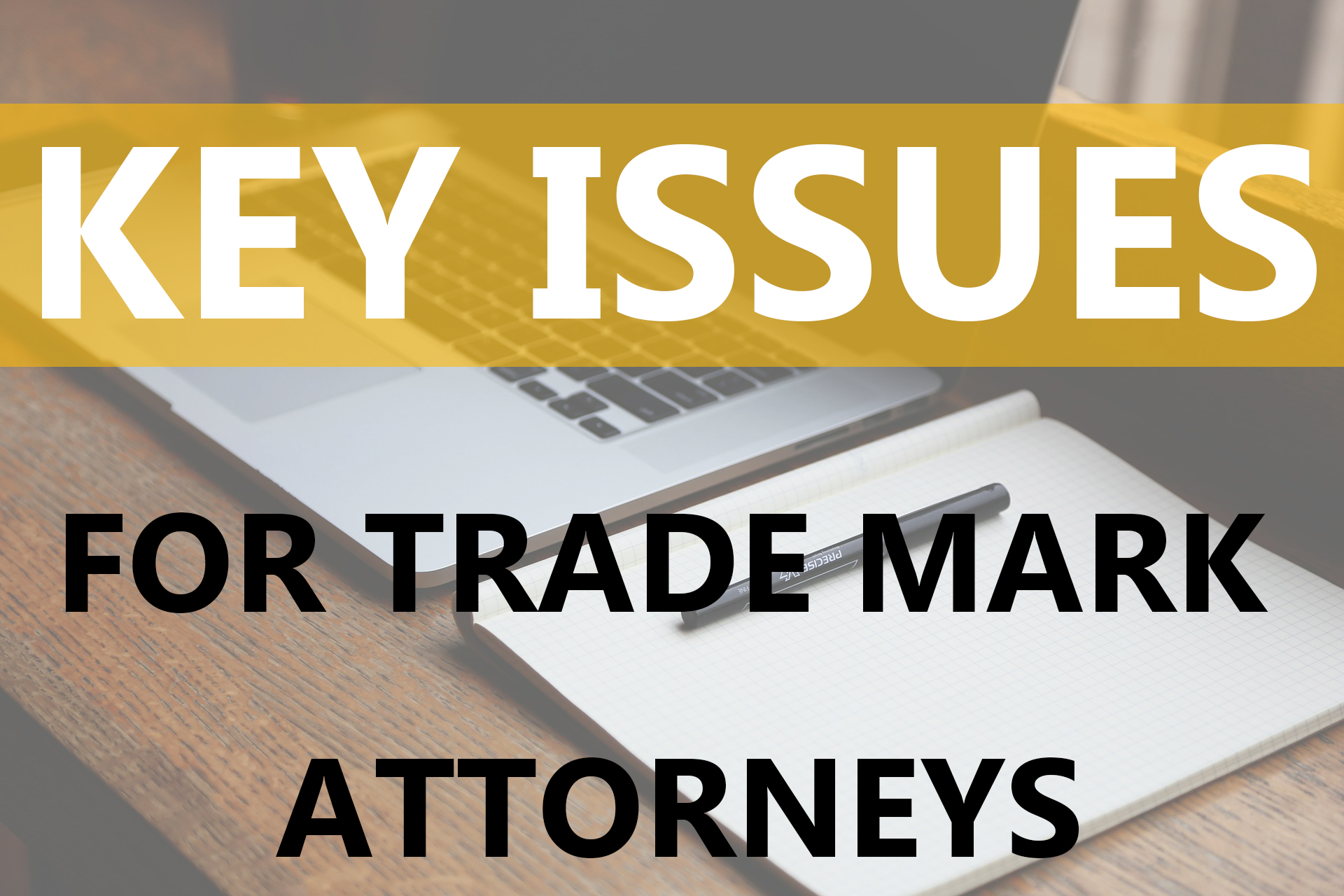 Key Issues Currently Facing Trade Mark Attorneys