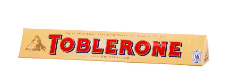 Change in Toblerone's Shape Could Mean Loss of Iconic Trade Mark - Dawn Ellmore