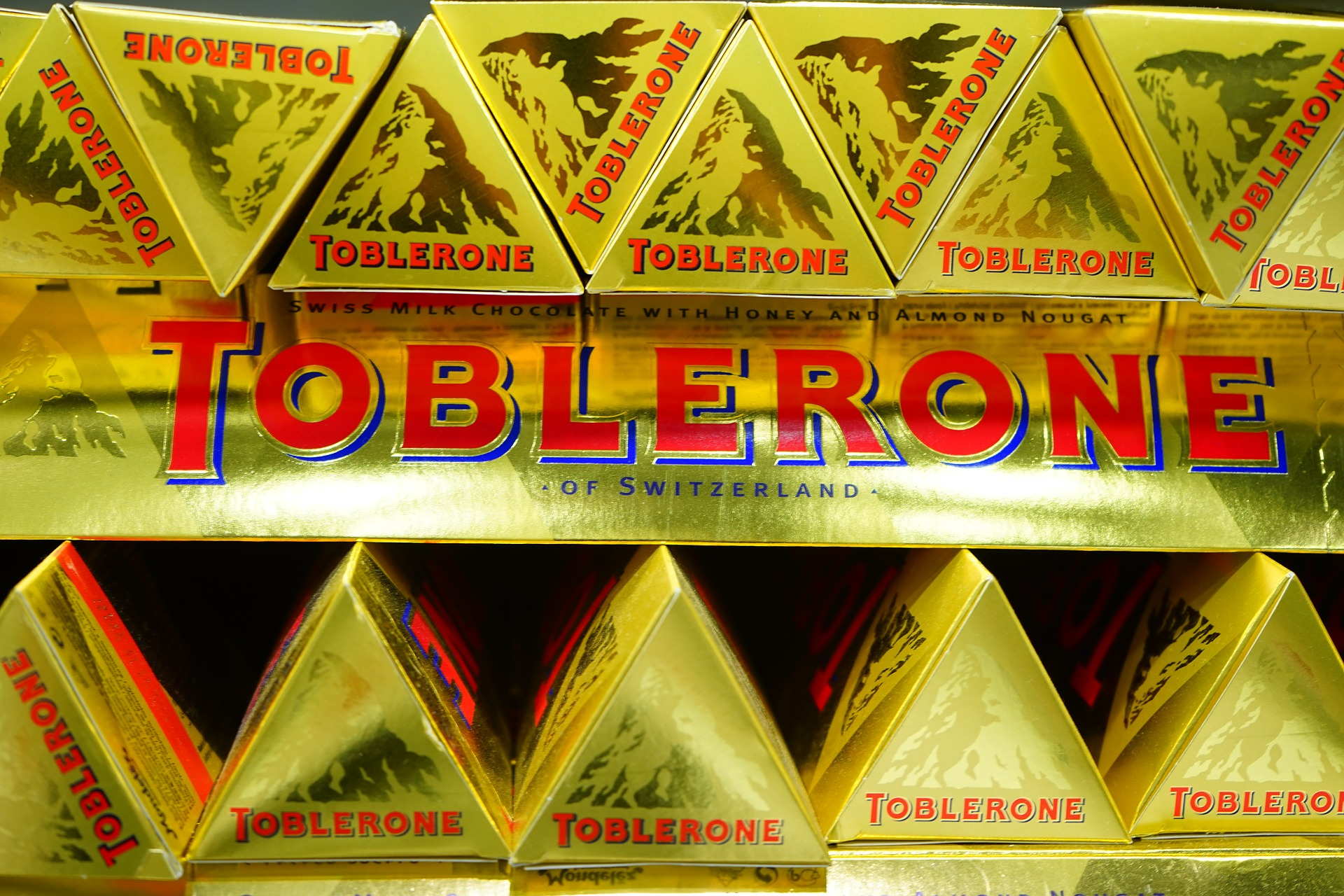 Change in Toblerone's Shape Could Mean Loss of Iconic Trade Mark