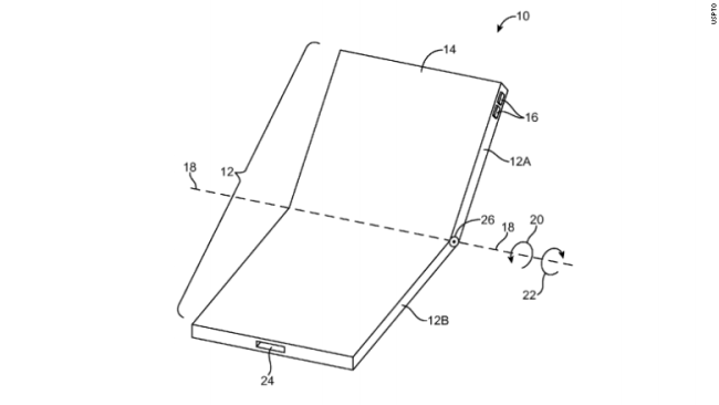 Foldable iPhone Patent Granted to Apple