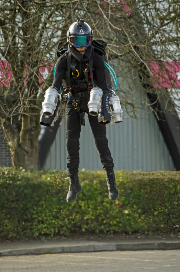 Dawn Ellmore Employment - jet suit - iron man